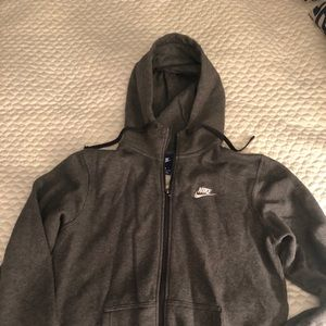 FINAL SALE NWOT Men's Charcoal Grey Nike Hoodie!